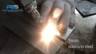 hand held laser welding machine