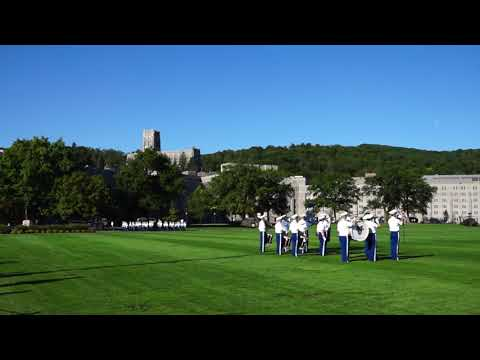 9/9/2017 Army vs Buffalo: West Point Band Marching out