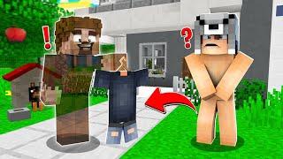 FAKİR GÖRÜNMEZ OLUP BENİ TROLLEDİ! 😱 - Minecraft