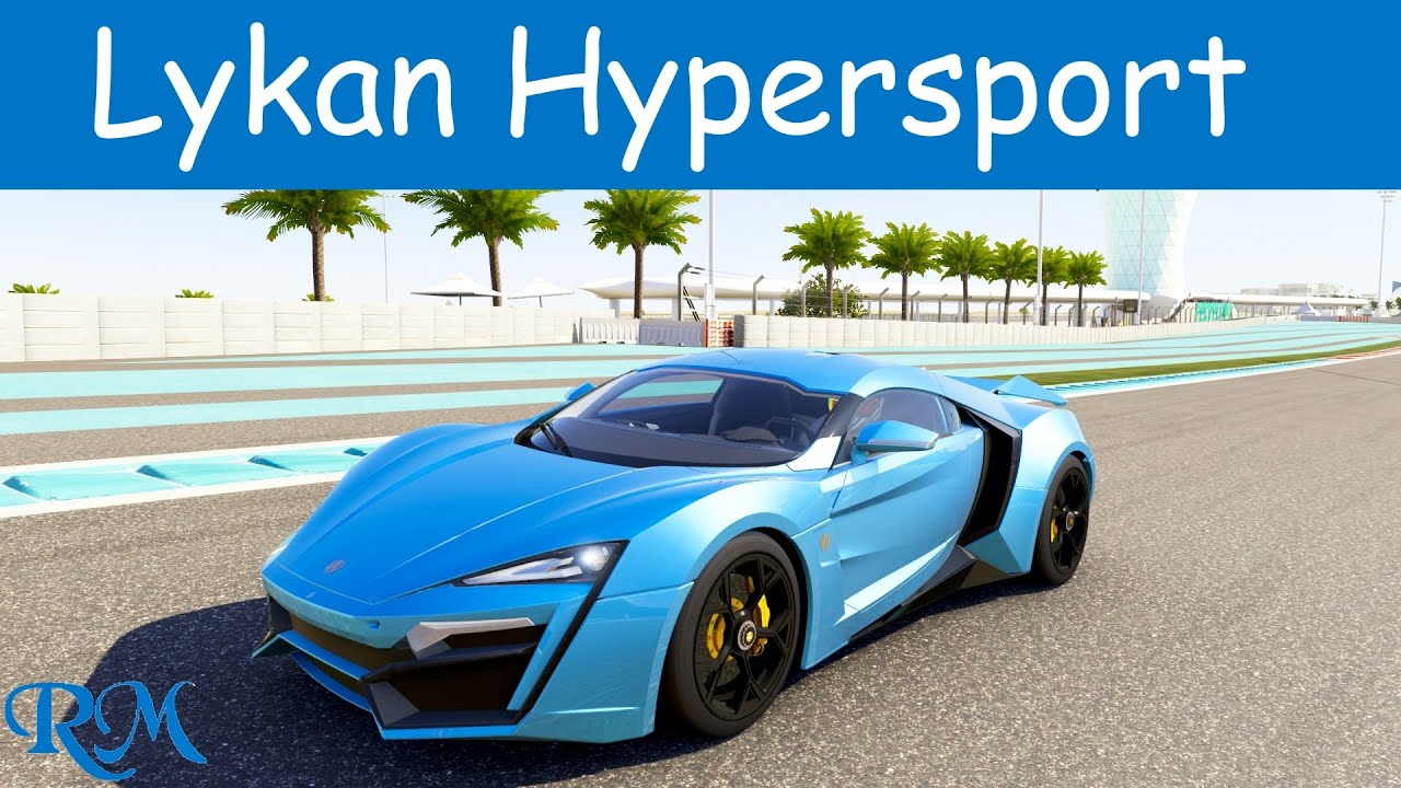Delicieux Forza 6   Lykan Hypersport Top Speed   YouTube