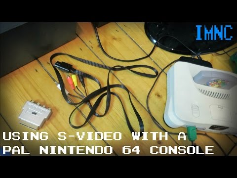 Using S-Video With a PAL N64 | IMNC