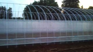 佐藤未来研究所 実験農場の記録 2011/5/25 倉庫・作業用ハウス(5.5×18m...