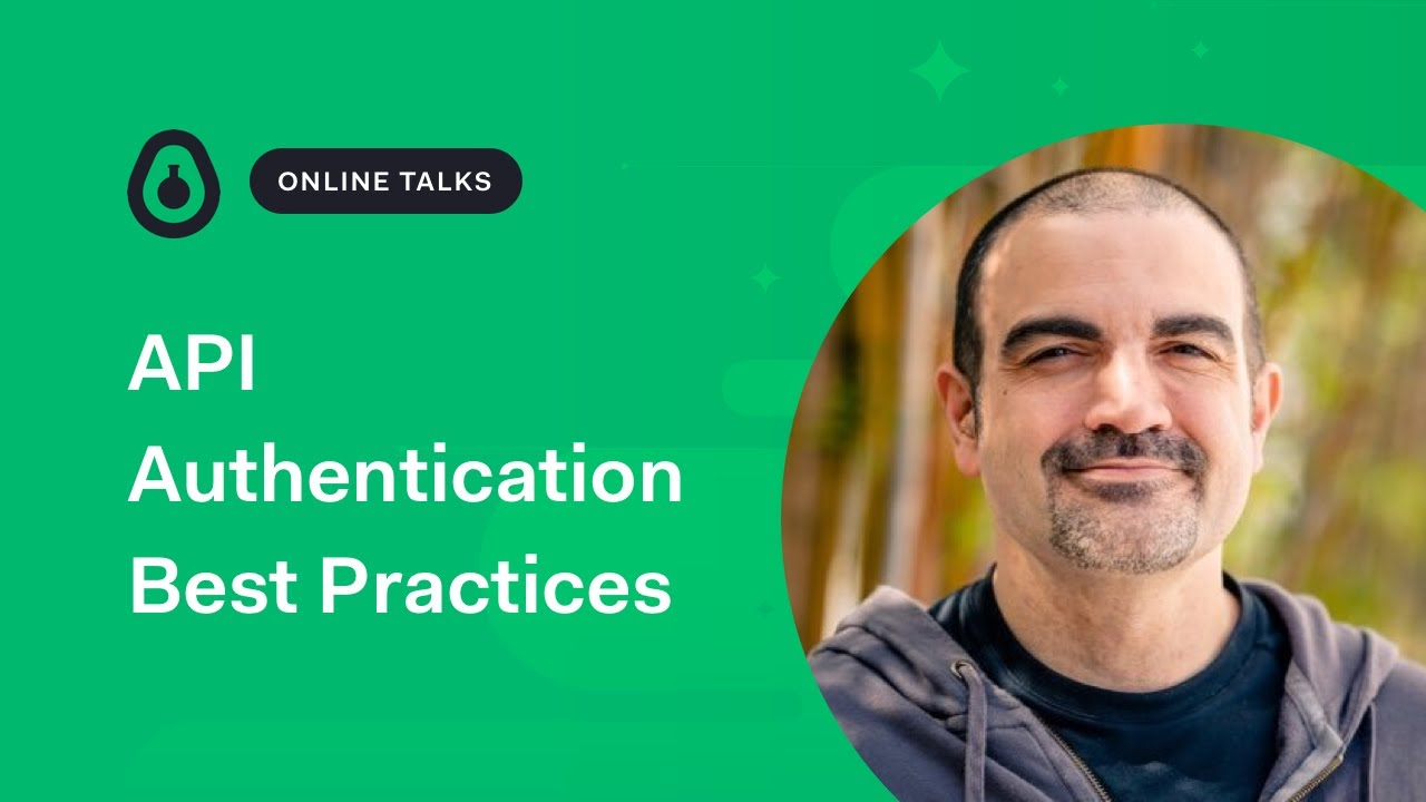 API Authentication Best Practices - James R Carr