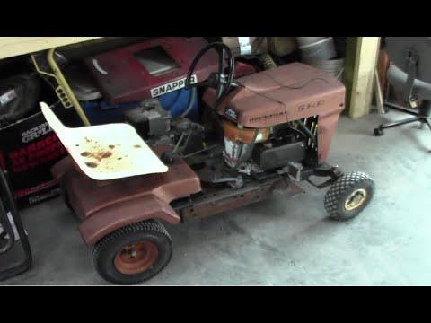 Eaton Viking Riding Mower First Start Youtube
