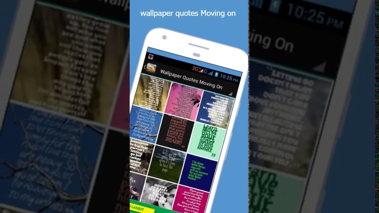 Wallpaper Quotes Moving On Youtube