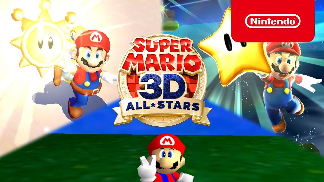 Super Mario 3D All-Stars aterriza el 18 de septiembre! (Nintendo Switch) -  YouTube