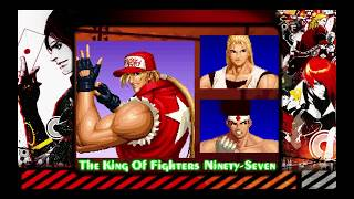 The King of Fighters Collection: The Orochi Saga PS4 KOF '97 Arcade Mode Team Fatal Fury