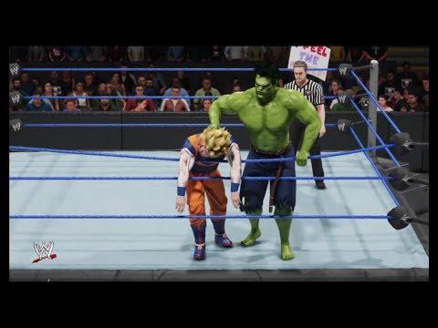 WWE 2K19 - Hulk vs. Goku - Digital Comics, Marvel Legends, Epic Battle 💯 |