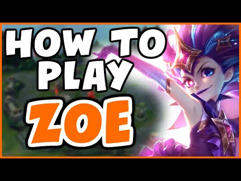HOW TO PLAY ZOE VS SYNDRA   Challenger Zoe - League Of Legends
