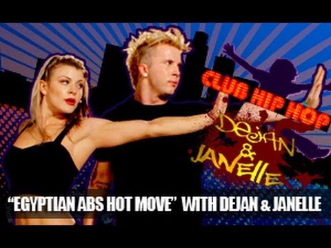 Egyptian Abs Dance Exercise: Dejan Tubic & Janelle Ginestra