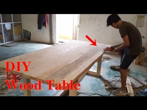 DIY Wood Pallet Dining Table | DIY Furniture