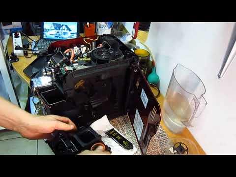 Кофемашина Philips Saeco Syntia Не готовит кофе и не работает дисплей - стоимость ремонта