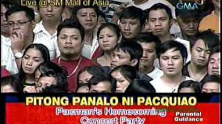 KYLA - Home (Live @ MOA - Pitong Panalo Ni Pacquiao)