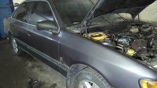 Замена передней стойки Ford Scorpio