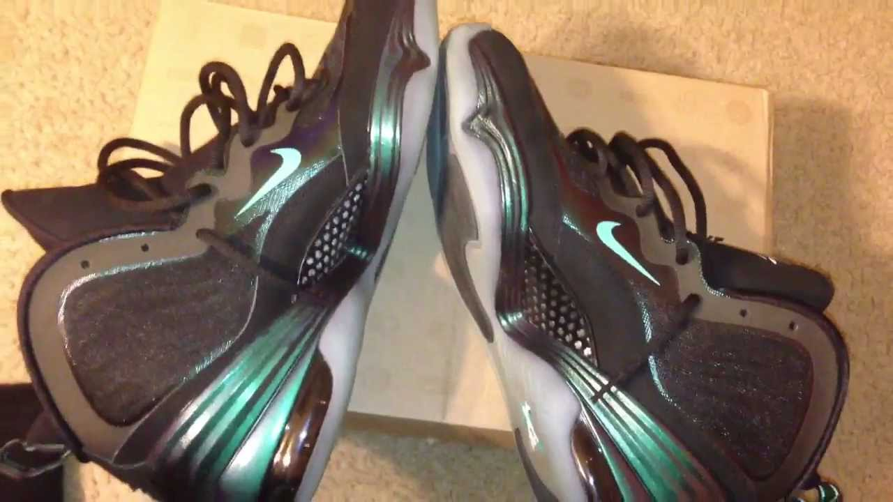 5a34799eace Nike Air Penny 5 Invisibility Cloak Review - YouTube