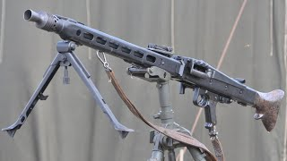 Лучшее оружие Второй мировой: Пулемет MG-42