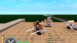 "Main ROBLOX attack on Titan ""without sound"" #1"