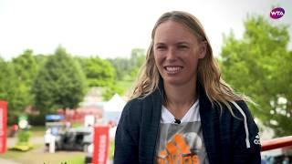Caroline Wozniacki   2018 Montreal pre-tournament interview