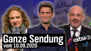 Extra 3 vom 10.09.2020 mit Christian Ehring