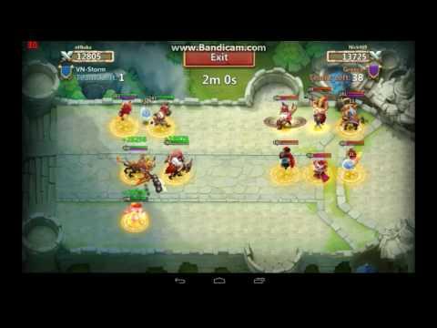 Fortress Feud Guild VN-Storm 02-04-2017 Castle Clash