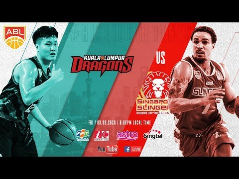 Kuala Lumpur Dragons v Singapore Slingers   FULL GAME   2019-2020 ASEAN Basketball League