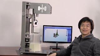 Octave Light R1, Top-down Desktop DLP Stereolithography (SLA) 3D Printer, Prototype #4