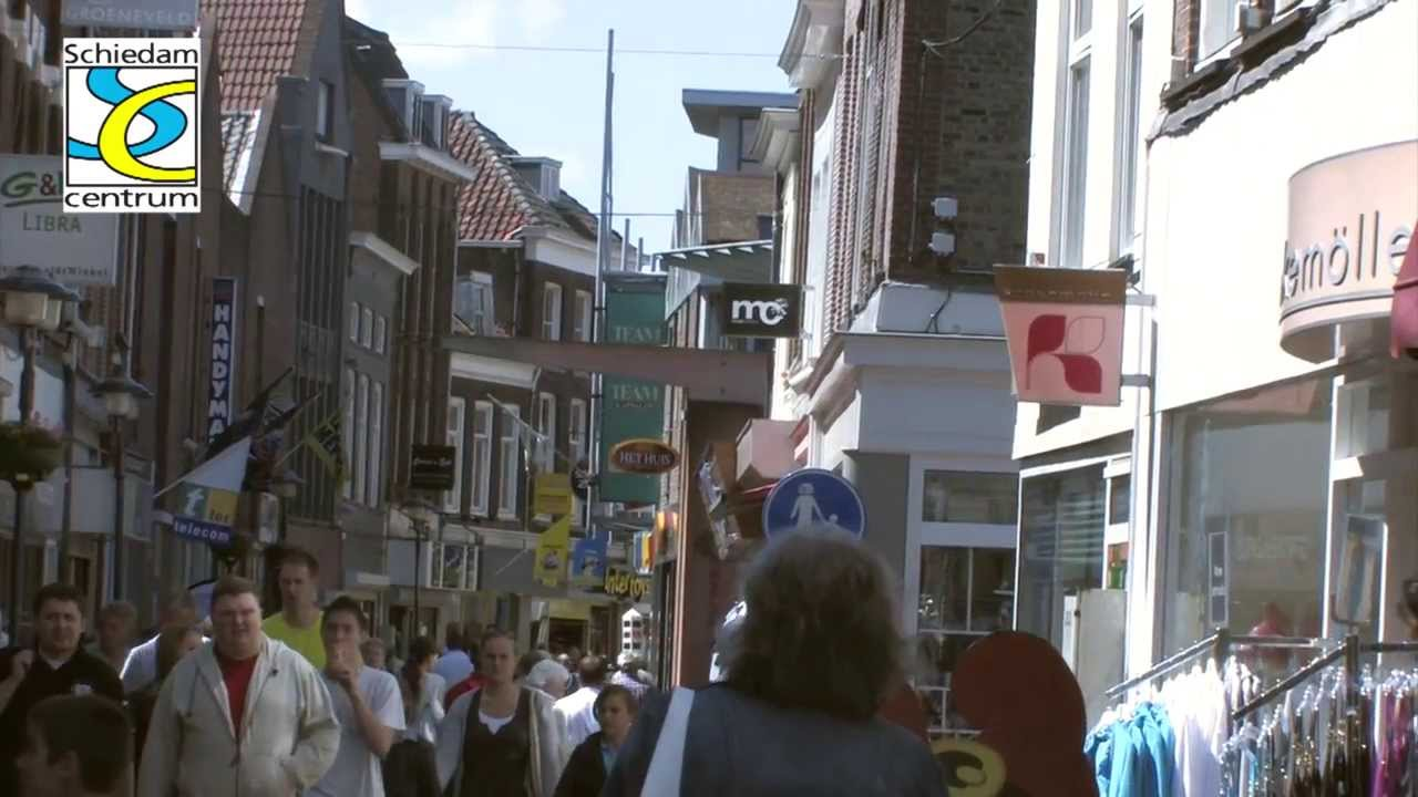 Kom Gezellig Winkelen In Schiedam Met Het Prachtige Historische