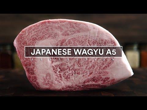 Sous Vide JAPANESE WAGYU A5 24oz Ribeye!