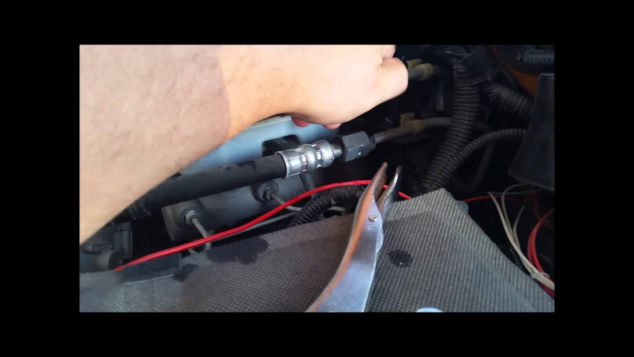 2010 Ram 3500 Hissing Power Steering Hydrobooster Line Fix Youtube