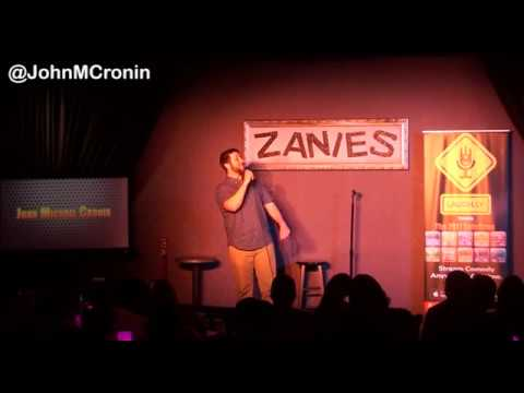 Killer Stand-up at Zanies - John Michael Cronin