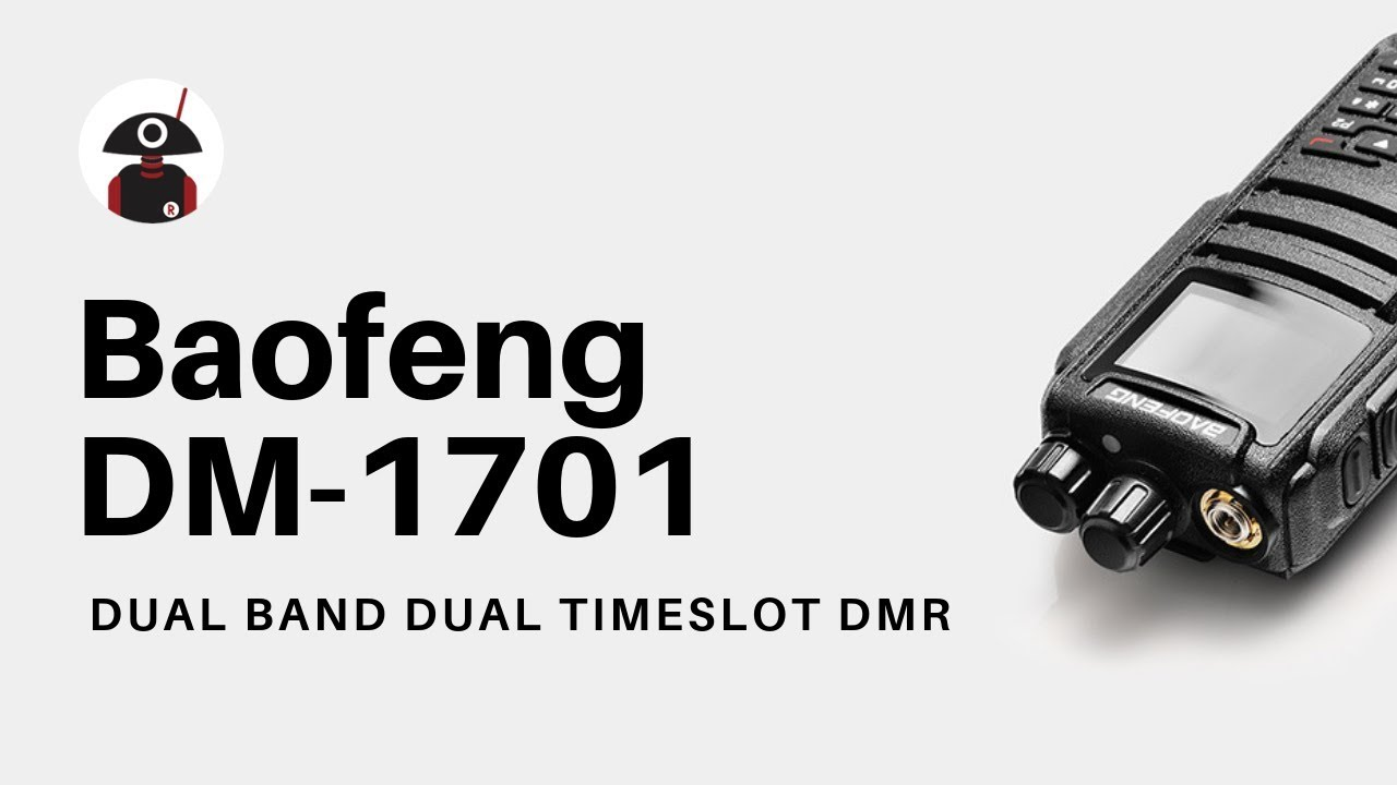 Baofeng DM-1701 DMR | Dual Band | 5W | 120K Contacts Import | SMS Function