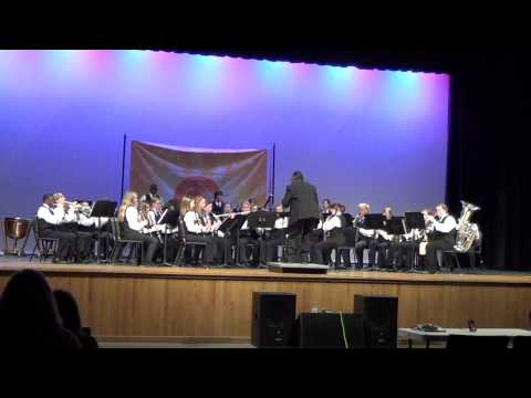 Fernandina Beach Middle School Symphonic Band, Orlando Fest Performance, March 2012