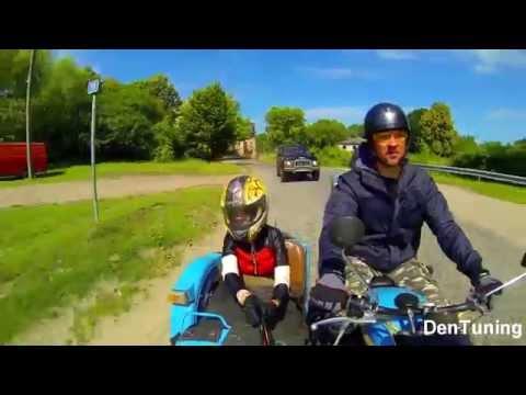Мотоцикл Урал, испытания