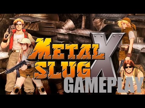 METAL SLUG X gameplay comentado