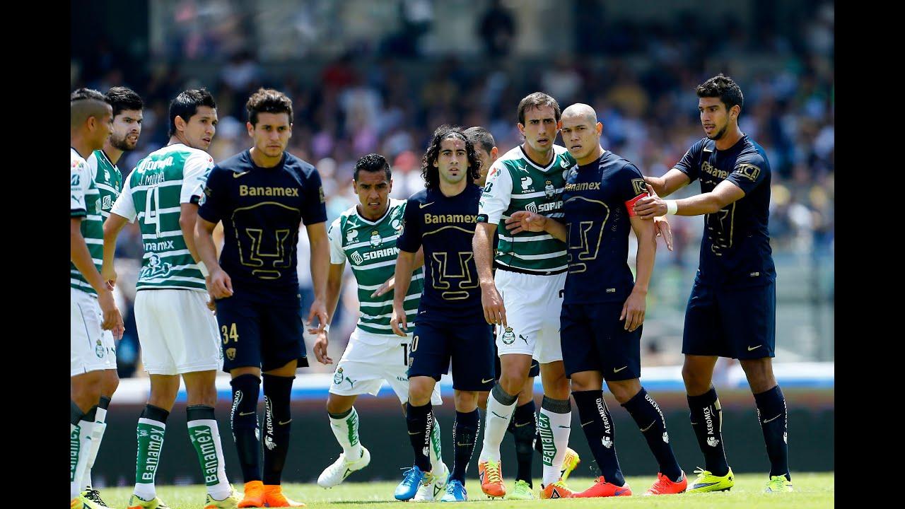 patrón Automáticamente dispersión  Resumen Pumas vs Santos - 19/04/2015 - YouTube