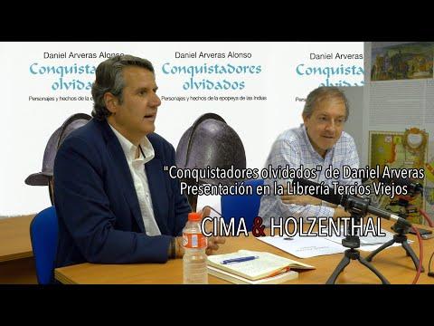 """""""Conquistadores Olvidados"""" De Daniel Arveras. Presentación En La Librería Tercios Viejos."""