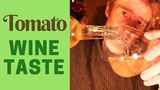 Tomato wine taste test - Passata V's Tinned Tomato wine!