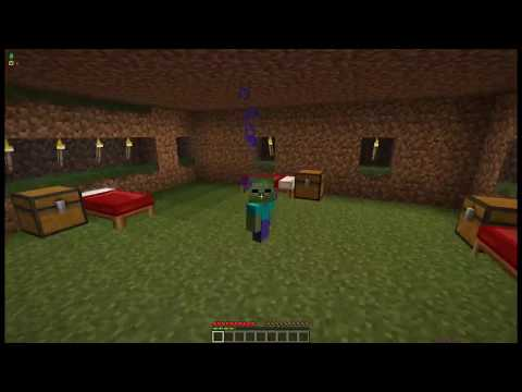 Minecraft - HOW To PLAY As A ZOMBIE BABY IN MINECRAFT? RESIDENTS VS ZOMBIES MINECRAFT