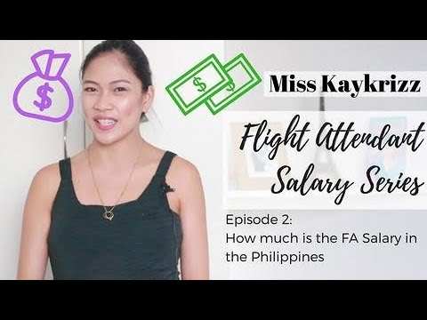 Episode 2: How Much Is  A Flight Attendant Salary In The Philippines | MISSKAYKRIZZ (Philippines)
