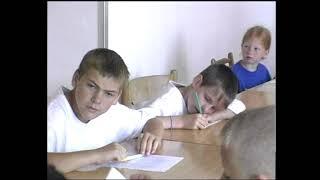 Kralupy TV: Mladí rybáři na letním táboře (22. 7. 2002)