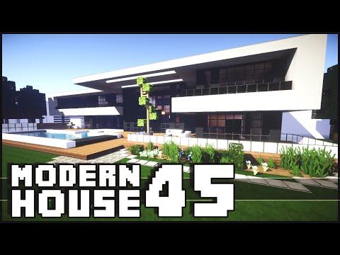 Minecraft modern house 2 inspiration w keralis doovi for Minecraft modern house download 1 8