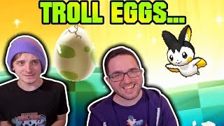 TROLL EGGS... WHY?! | Pokemon Ultra Sun and Ultra Moon Egglocke Co-Op Part 2