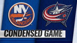 02/14/19 Condensed Game: Islanders @ Blue Jackets