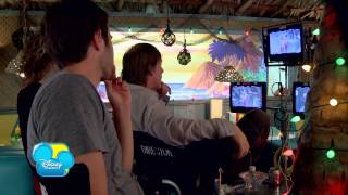Teen Beach Movie - Behind the Scenes # 4 - Biker & Surfer - Disney Channel