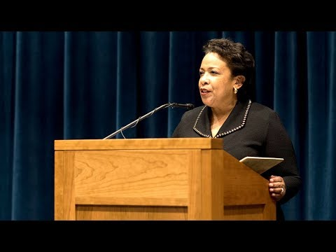 """The Role of Lawyers in a Post-Truth World,"" With Loretta Lynch"