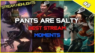 ✔ PANTS ARE SALTY - Best Stream Highlights #9 | League of Legends