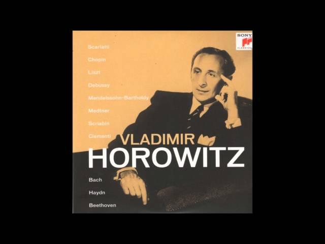 V. Horowitz - Étude Op. 10, No. 6 (F. Chopin)