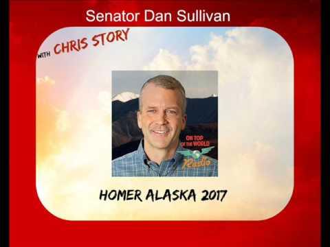 US Senator Dan Sullivan in Homer Alaska