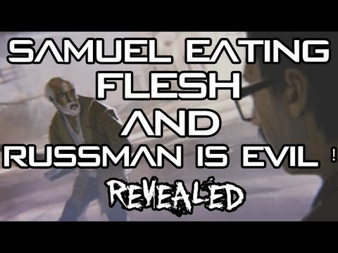 Black Ops 2 Zombies - Samuel eating FLESH (Picture) and Russman is Evil ? (WORTH IT)
