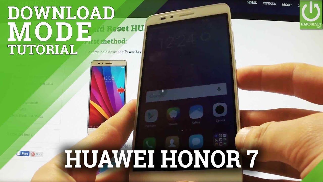 Download Mode In Huawei Honor 5x Enter Quit Download Youtube